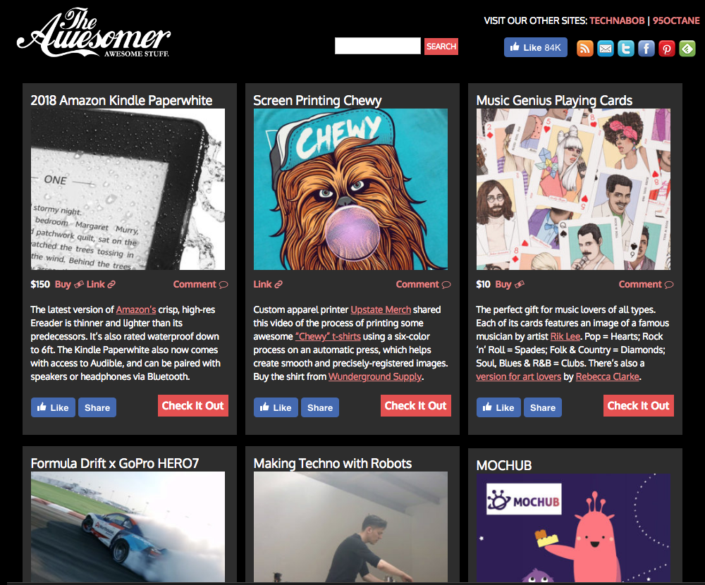 Chewy Post - We got featured on our Favorite Website THE AWESOMER!